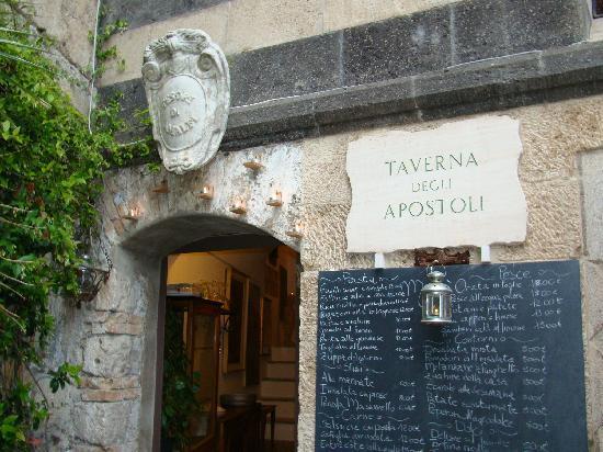 """""""La taverna degli Apostoli"""" – Amalfi  (Italia)"""