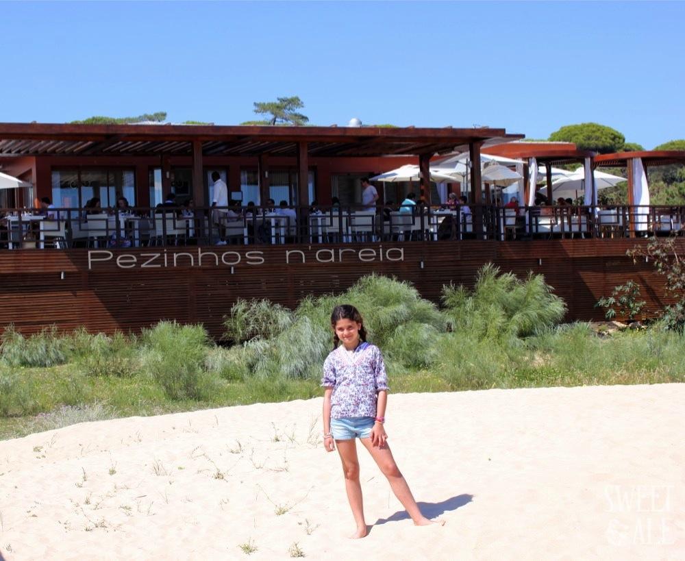 """Comiendo con los """"Pezinhos n'areia"""" – Castro Marim (Portugal)"""