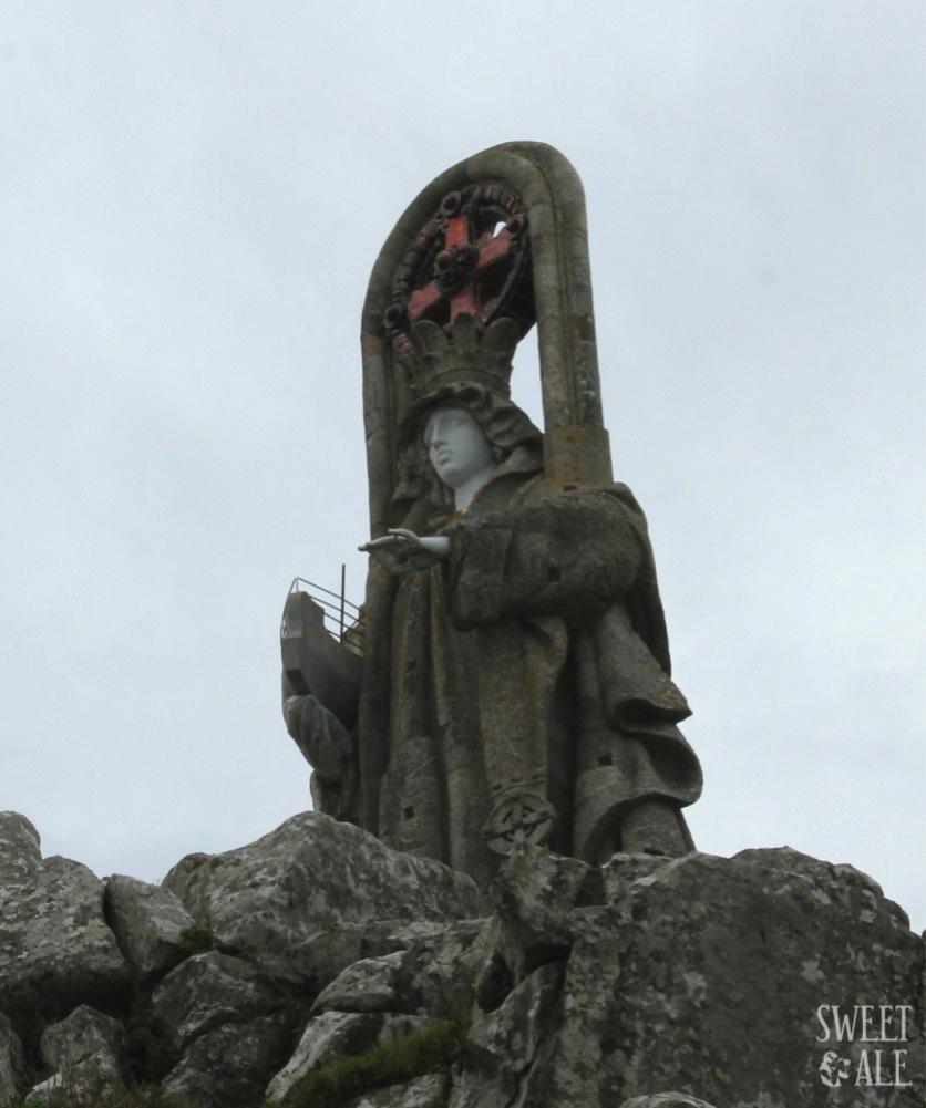 De excursión a la Virgen de la Roca – Baiona (Pontevedra)