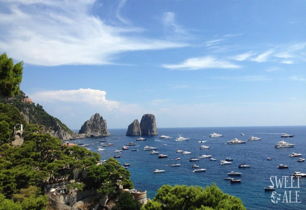 Capri by motorbike – Italy