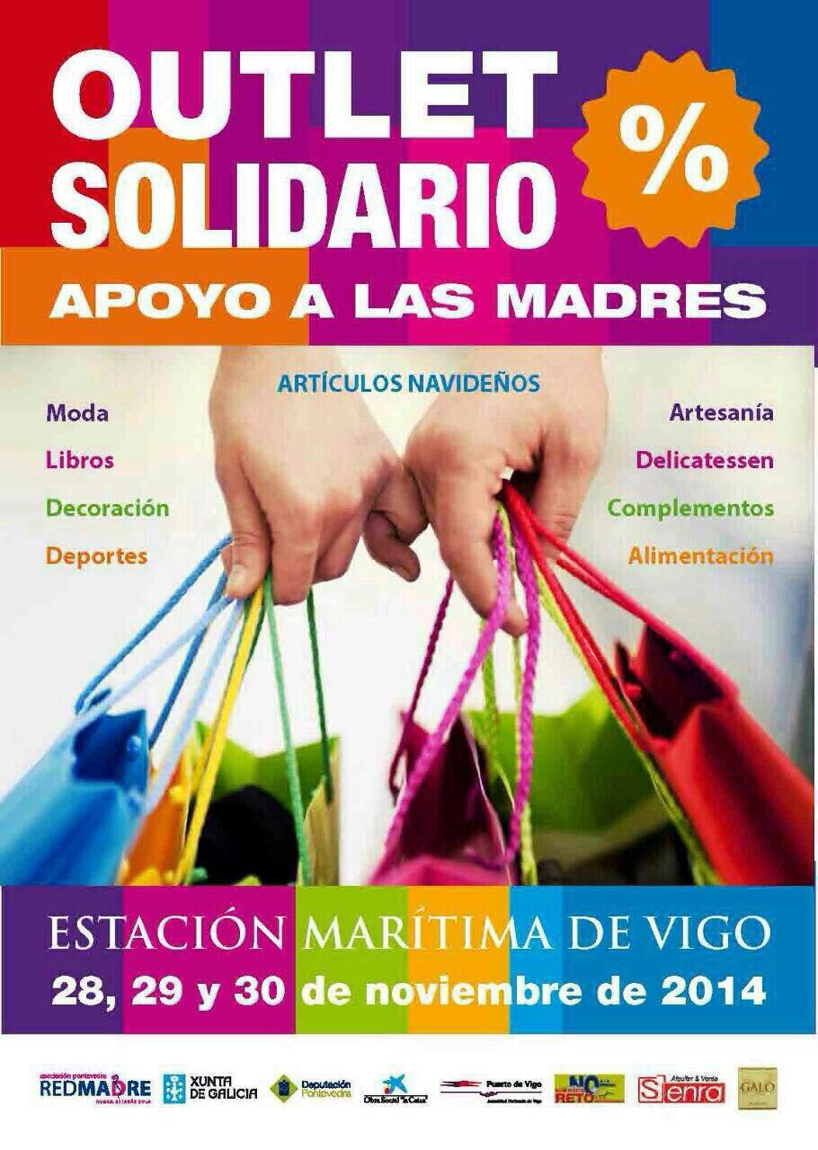 Outlet Solidario – Red Madre – Estación Marítima de Vigo : 28,29,30 noviembre 2014