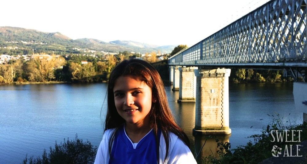 El puente sobre el río Miño – Frontera entre Galicia y Portugal