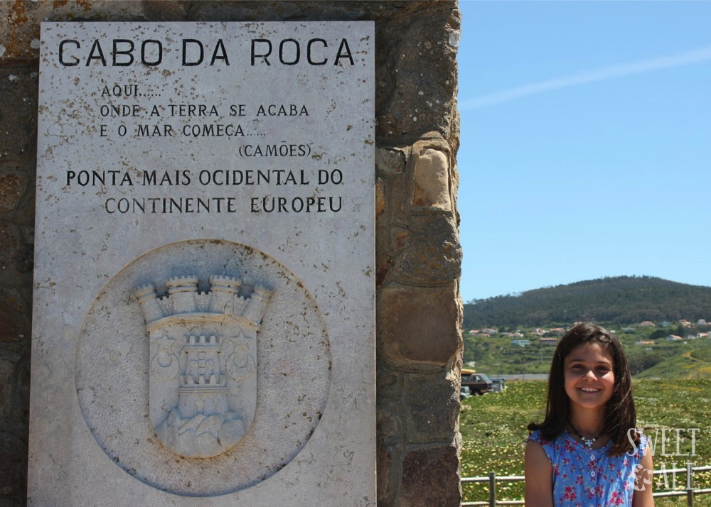 """Onde a terra se acaba e o mar começa"" (Luis de Camôes) – Cabo da Roca – Portugal"