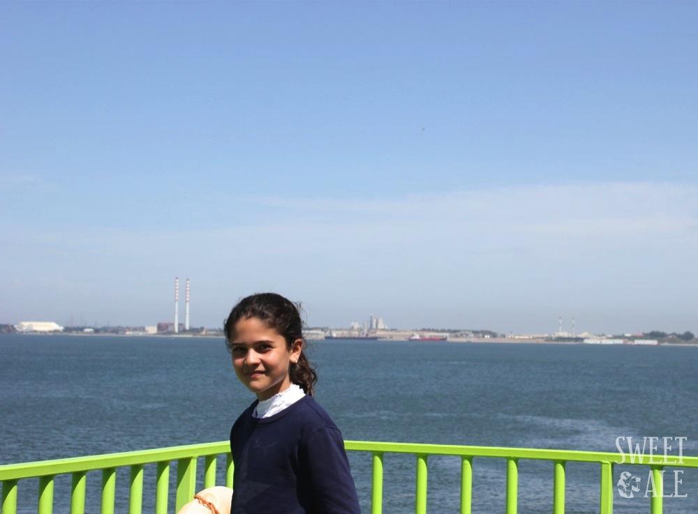 Desde Troia a Setúbal (Portugal)  en Ferry y de tapas en 490 Taberna en Setúbal