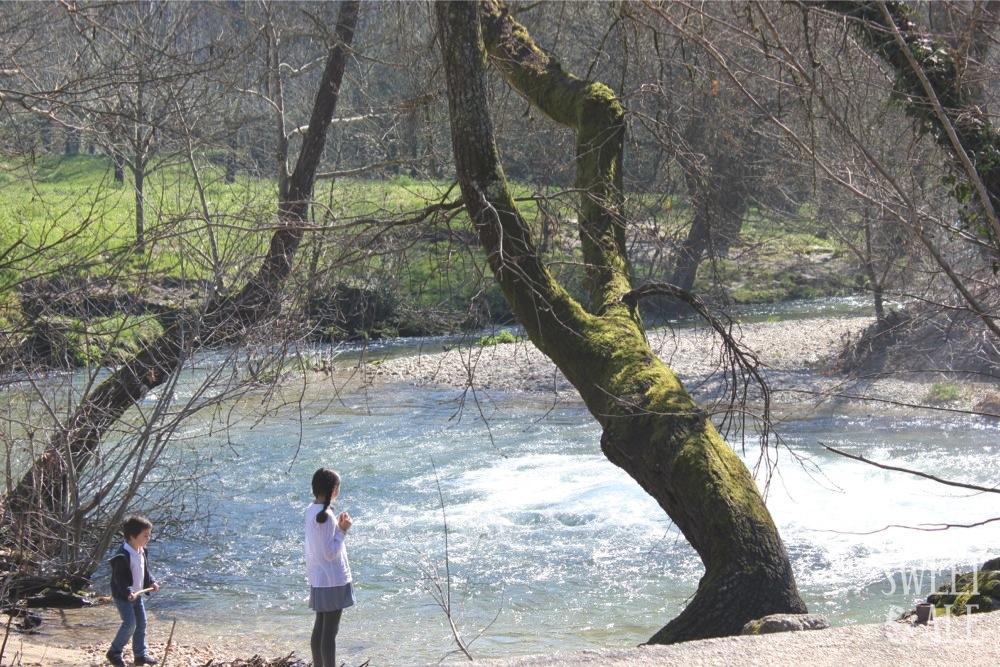 Paseo hasta la playa fluvial de Freixa – Río Tea (Pontevedra) Galicia