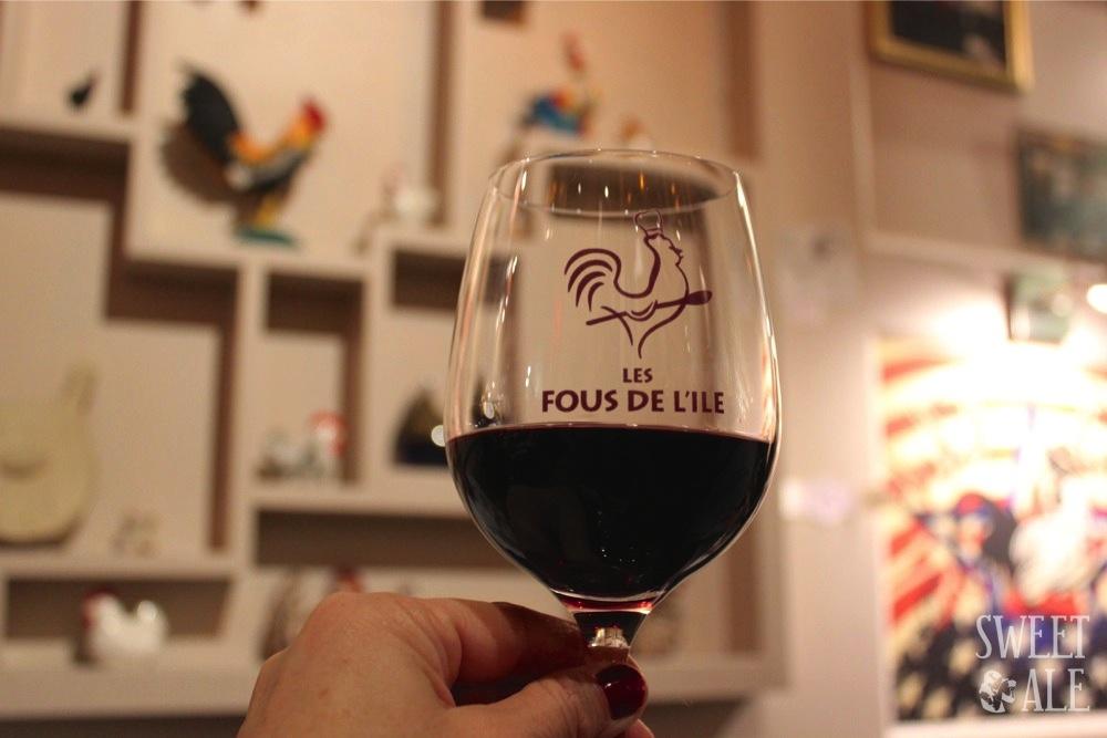 Copa de vino Les Fous de L'ile