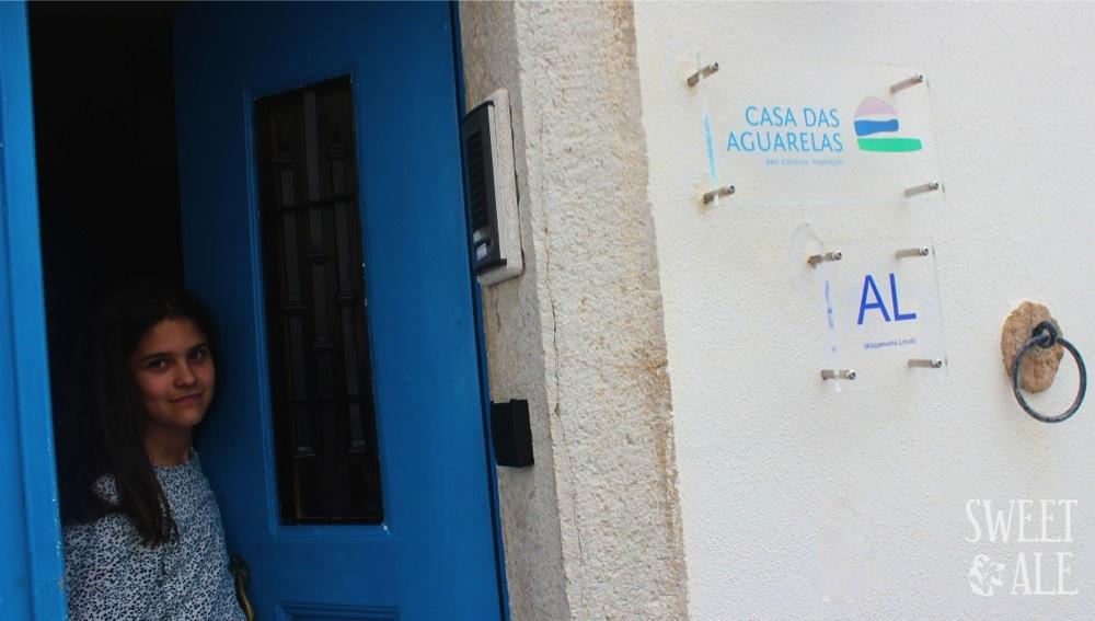 Puerta Casa das Aguarelas