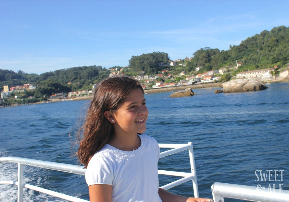 Ale en el barco