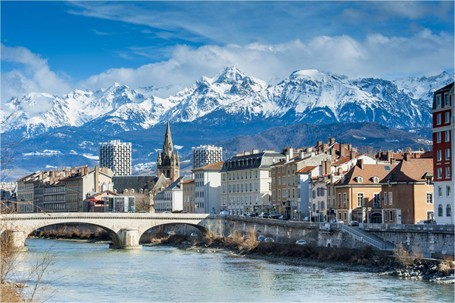 Grenoble nevado
