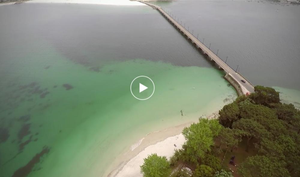 Vista aérea Toralla