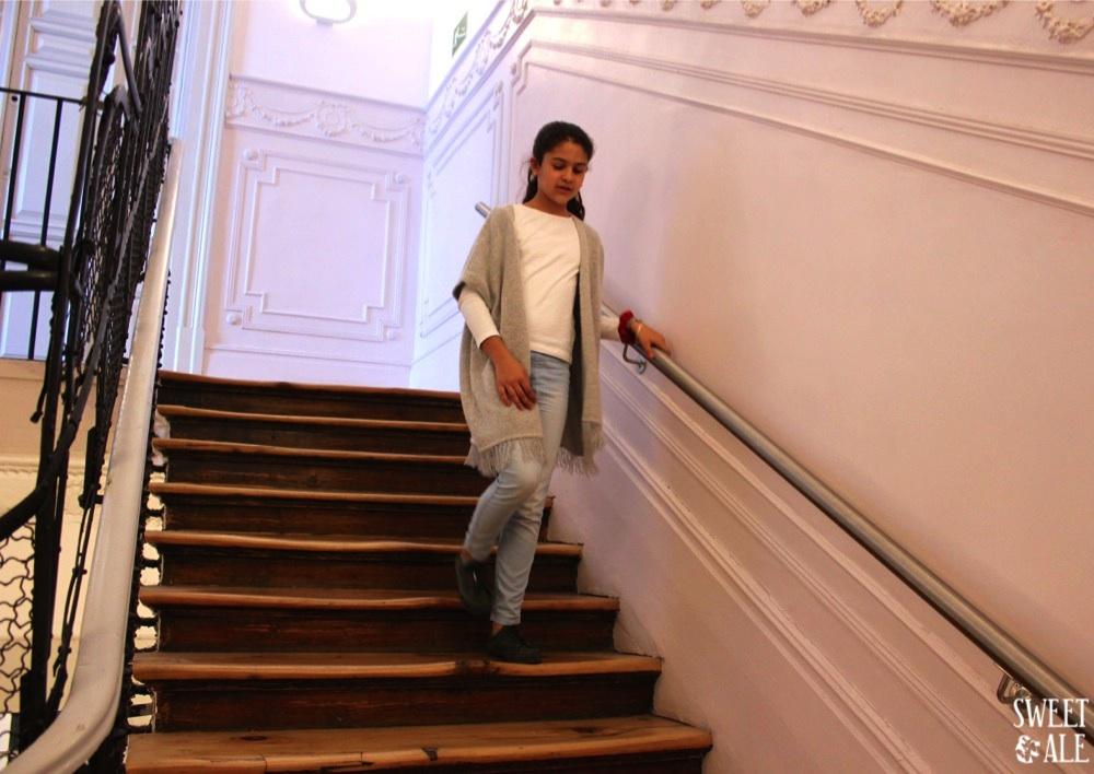 Ale escaleras