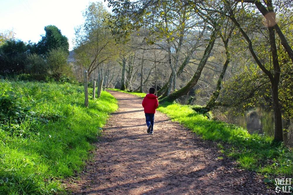 Paseo a la orilla del río Umia – Caldas de Reis (Galicia)