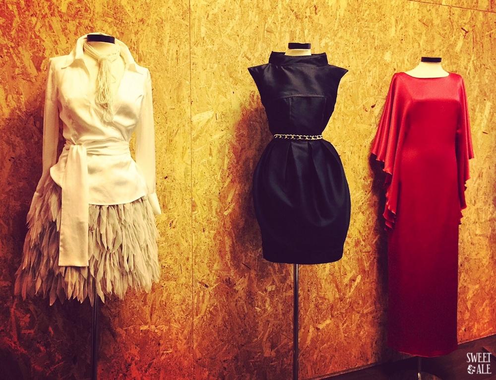 Foto tres vestidos Tache-imp