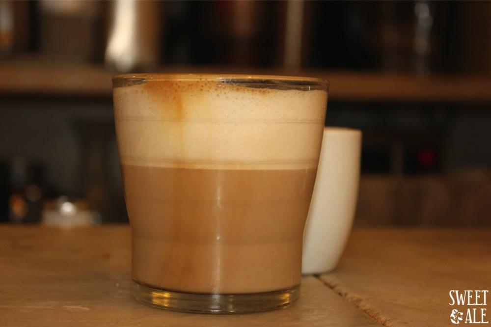 café con leche harina
