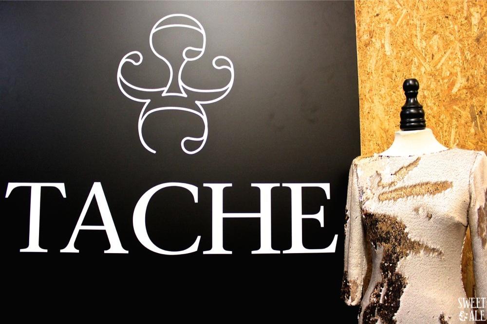 vestido & logo Tache