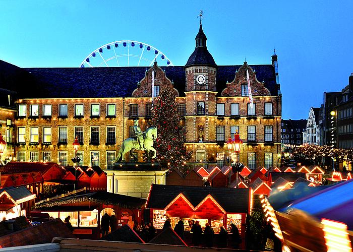 Mercado Navidad Düsseldorf