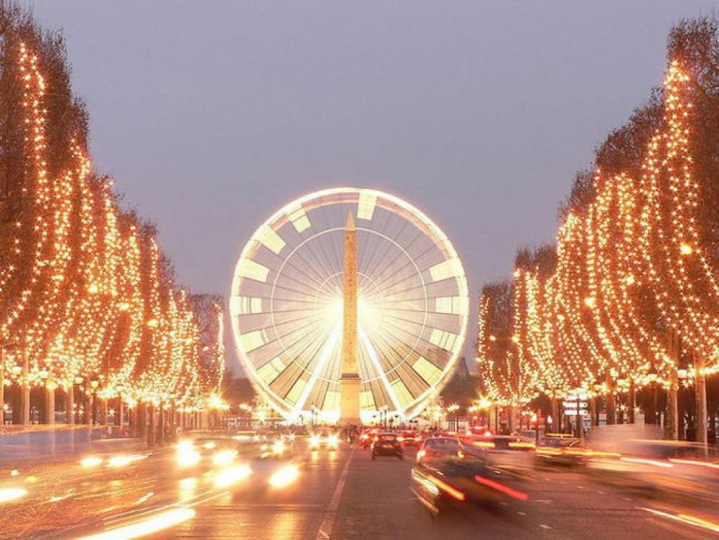 Mercado Navidad Paris