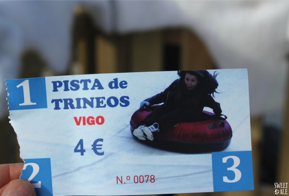 Ticket trineos