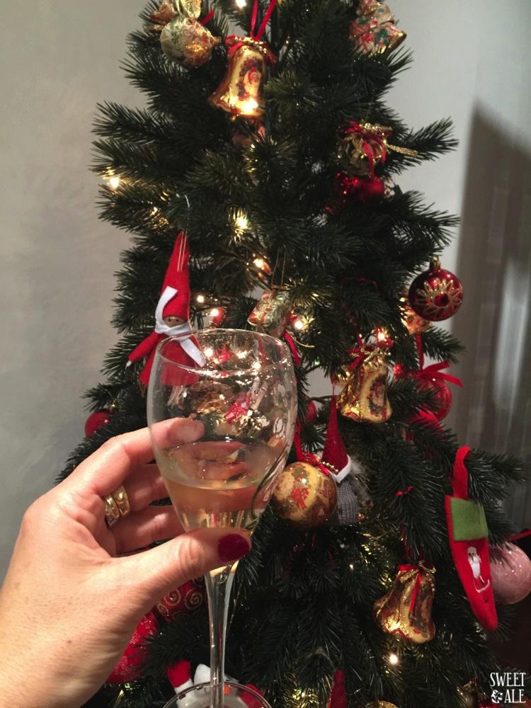 Copa & árbol Navidad