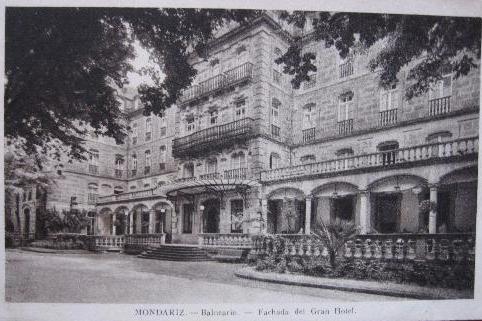 Fachada Gran Hotel vía todocoleccion