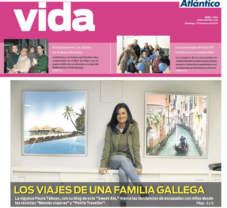 Entrevista a Paula Táboas – Sweet Ale – en Atlántico Diario de Vigo