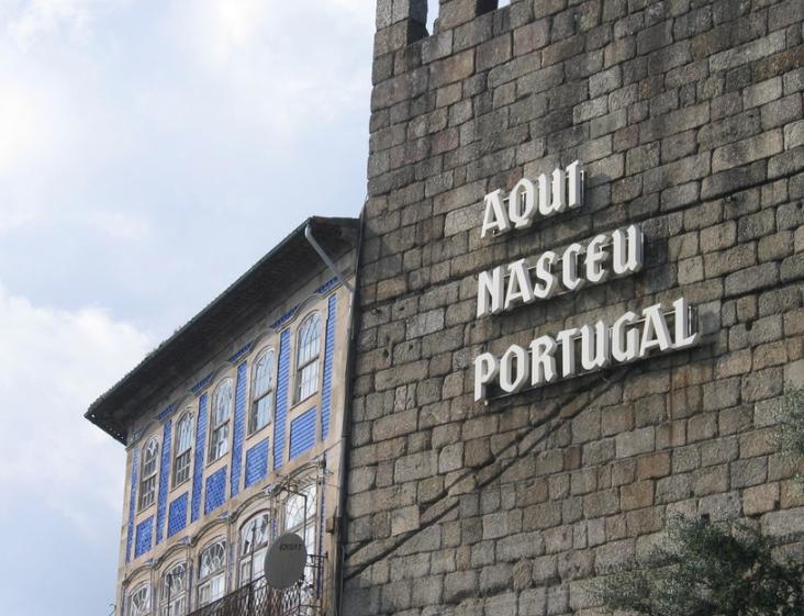 Aquí nasceu Portugal