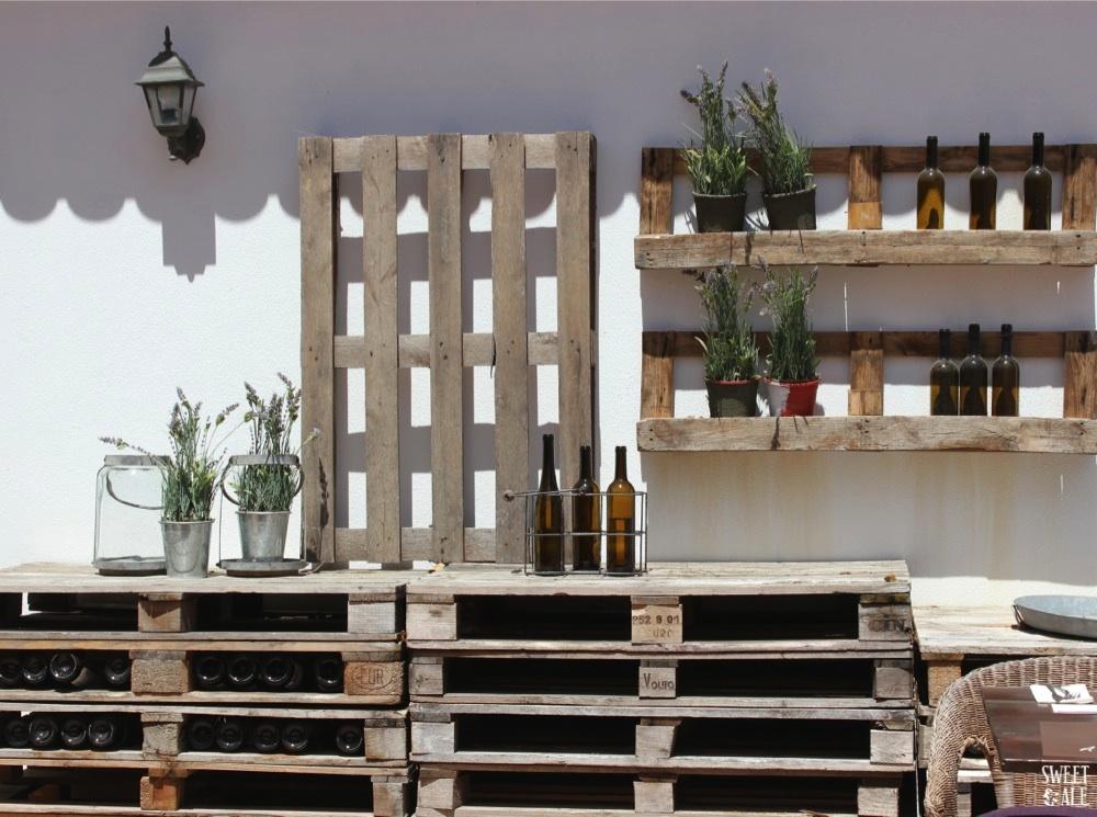 Detalle terraza Vila Bicuda