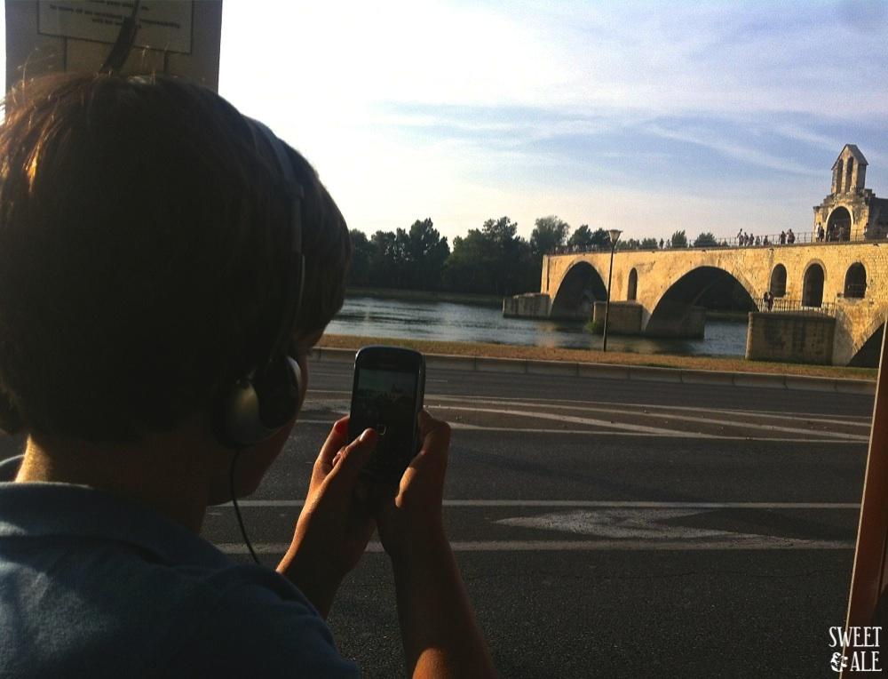 Puente Avignon foto Pablis