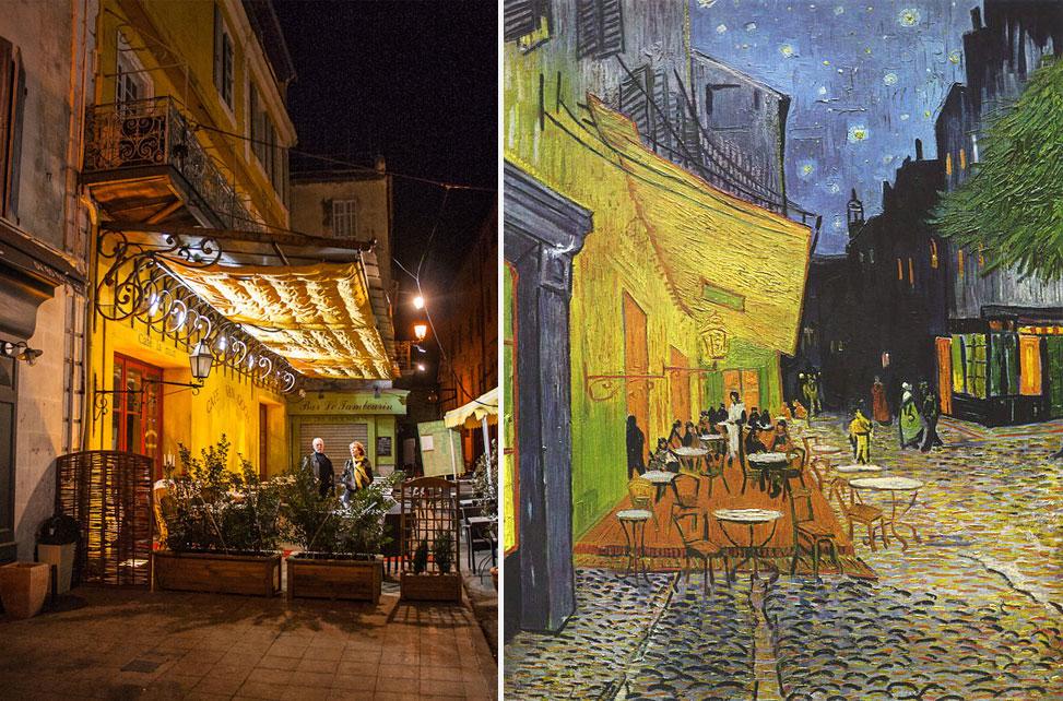 arles-van-gogh El cafe la nuit