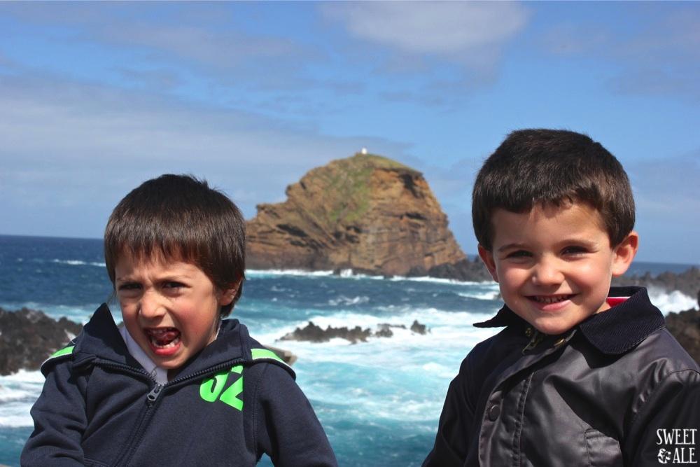 Niños Porto Moniz