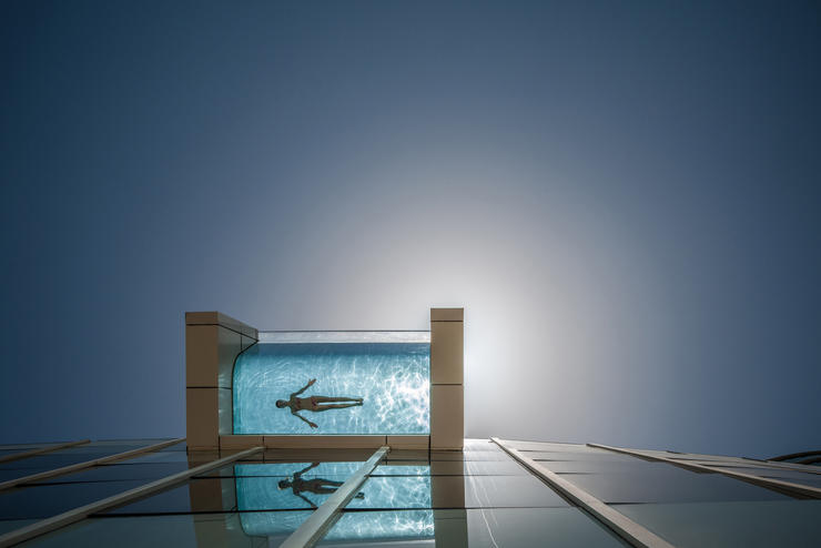 Piscina hotel Intercontinental Dubai