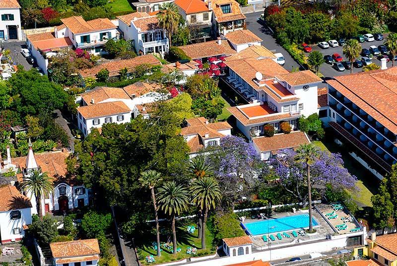 Quinta Penha de Franca vista aérea