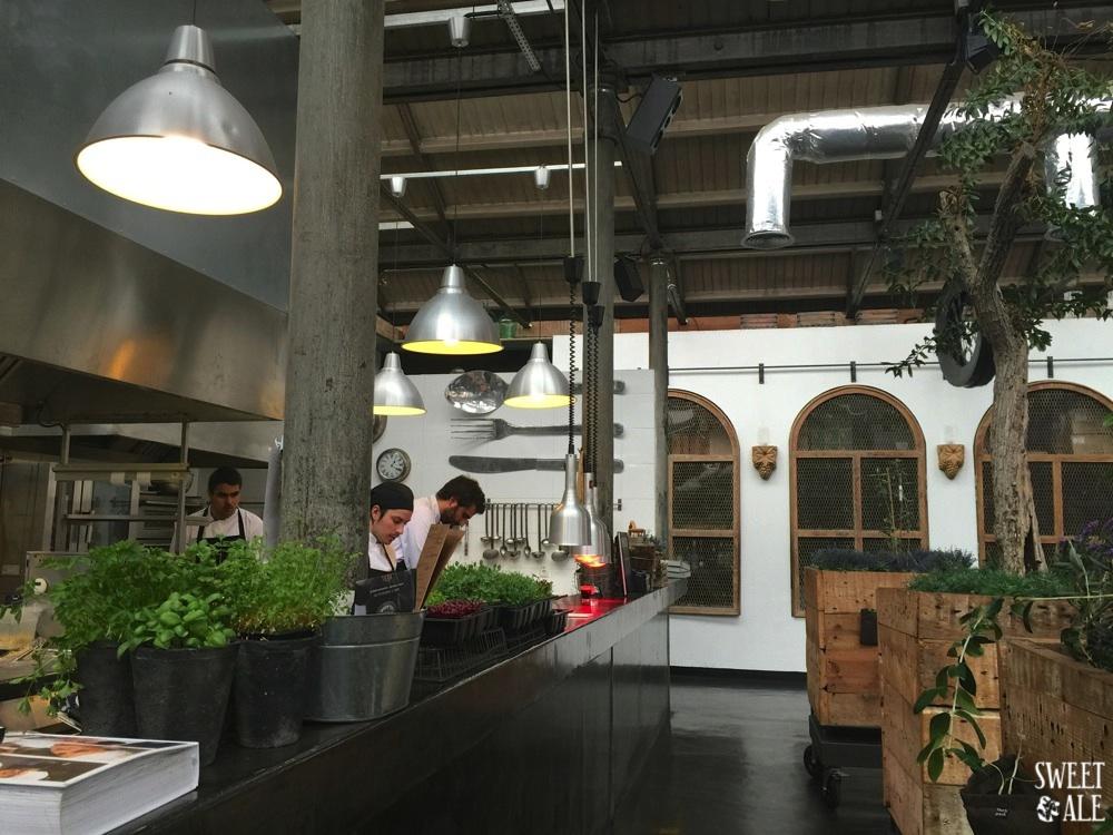cocina abierta taberna
