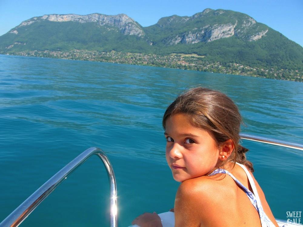 Vacaciones En Familia En El Lago Annecy (Francia)