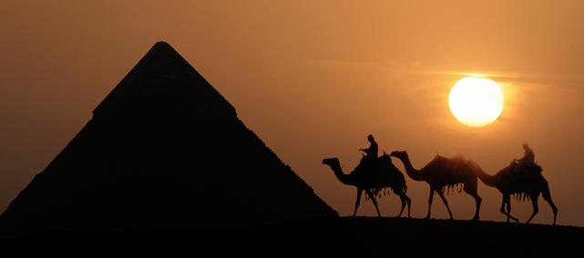 Atardecer Egipto