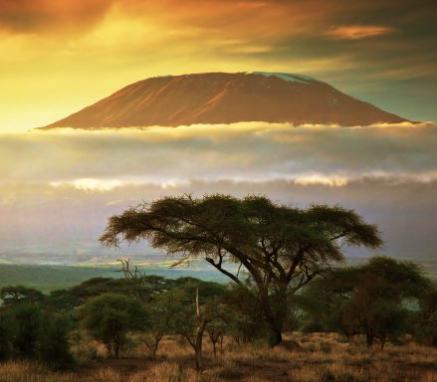 Atardecer Kilimanjaro
