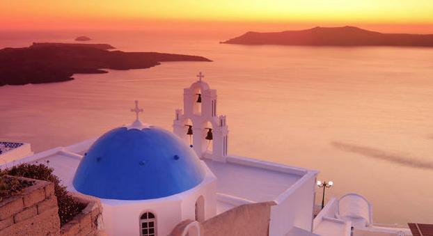 Atardecer Santorini