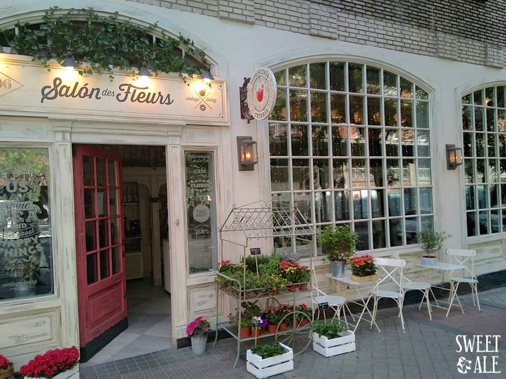 Donde tomar el t en madrid salon des fleurs sweet ale - Decoracion de fachadas ...