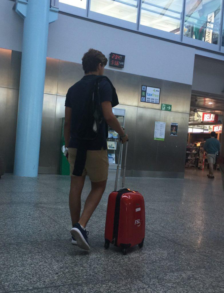 Pablo de viaje