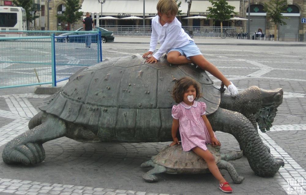 niños en Burdeos