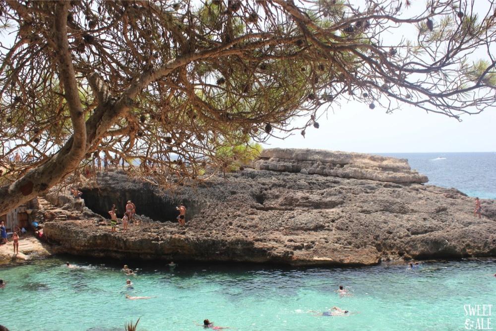 vista azul mar