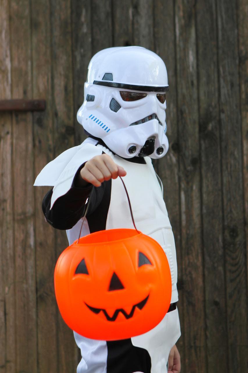 Planes de Hallowen con niños