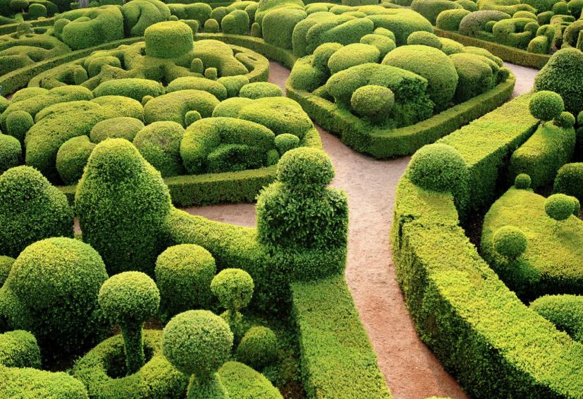 Jardines De Marqueyssac – Valle Del Dordoña (Francia)