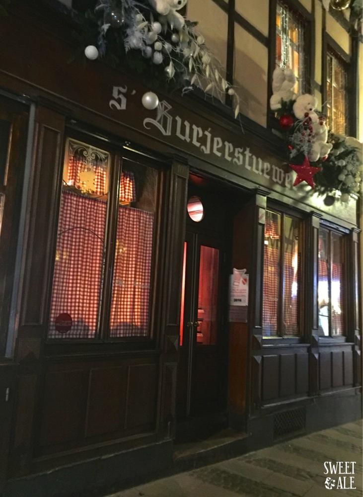 Chez Yvonne – Dónde comer en Estrasburgo (Francia)