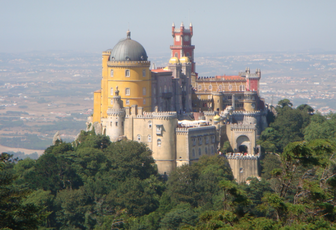 Palacio Da Pena – Serra Da Sintra – Lisboa – Portugal