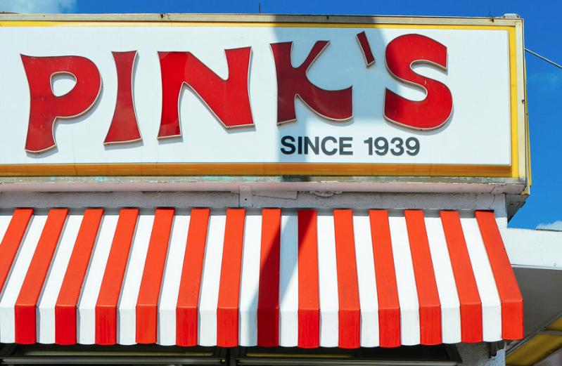 Pink's: Los Hot Dogs Más Famosos De Los Angeles