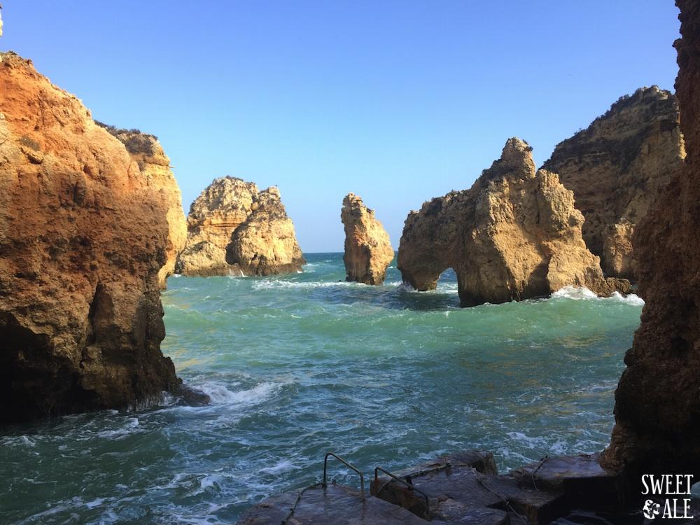 Playas y Acantilados Espectaculares En El Algarve – Portugal