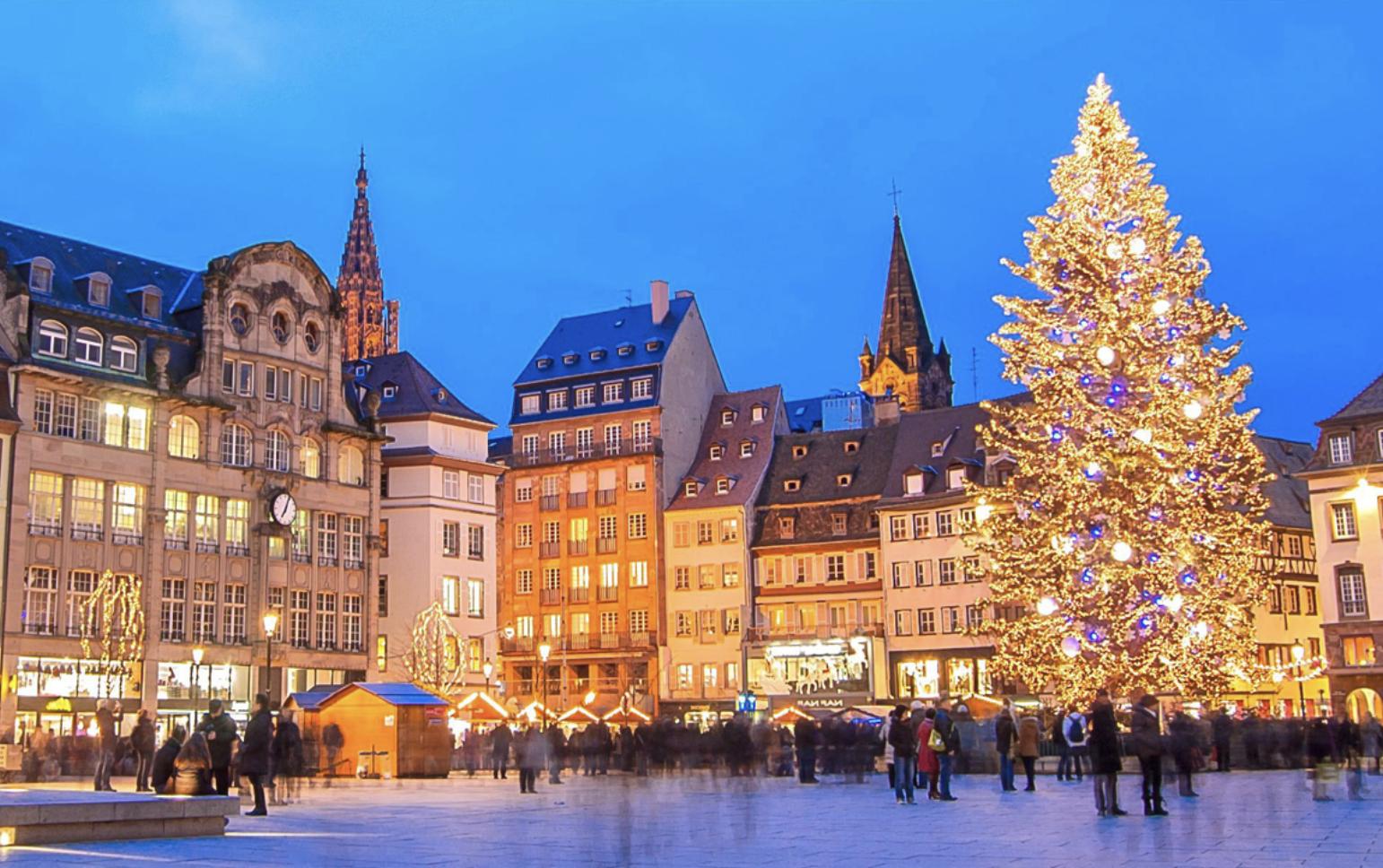 Mercados de Navidad en Estrasburgo