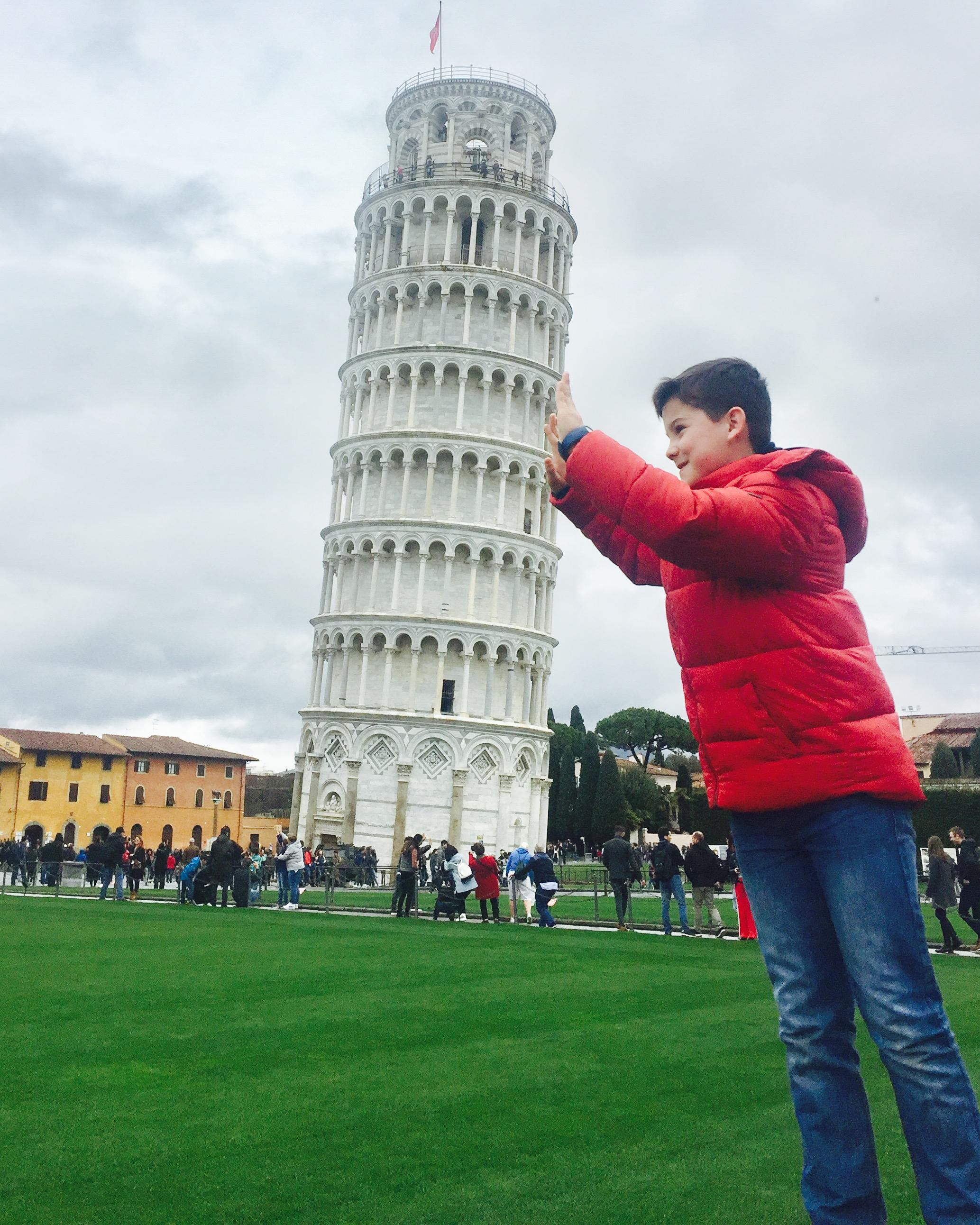 Visita a Pisa –  Italia –