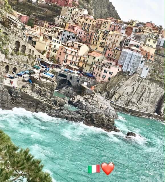 5 pueblos de Cinque Terre –  Italia